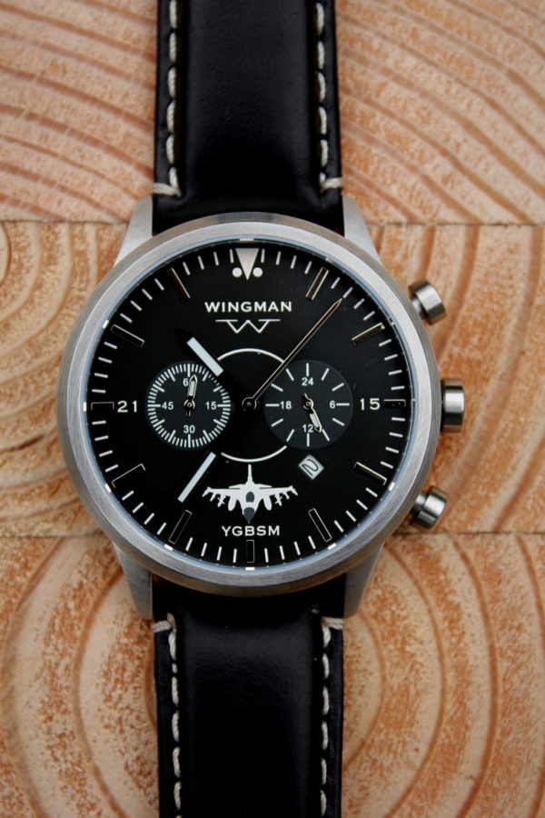 Wild Weasel with brushed stainless steel case